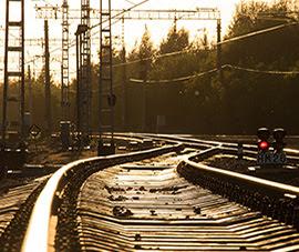Snart påbörjas arbetet med att bygga järnväg mellan Norrköpings hamn och södra stambanan. Foto: Norrköpings hamn.