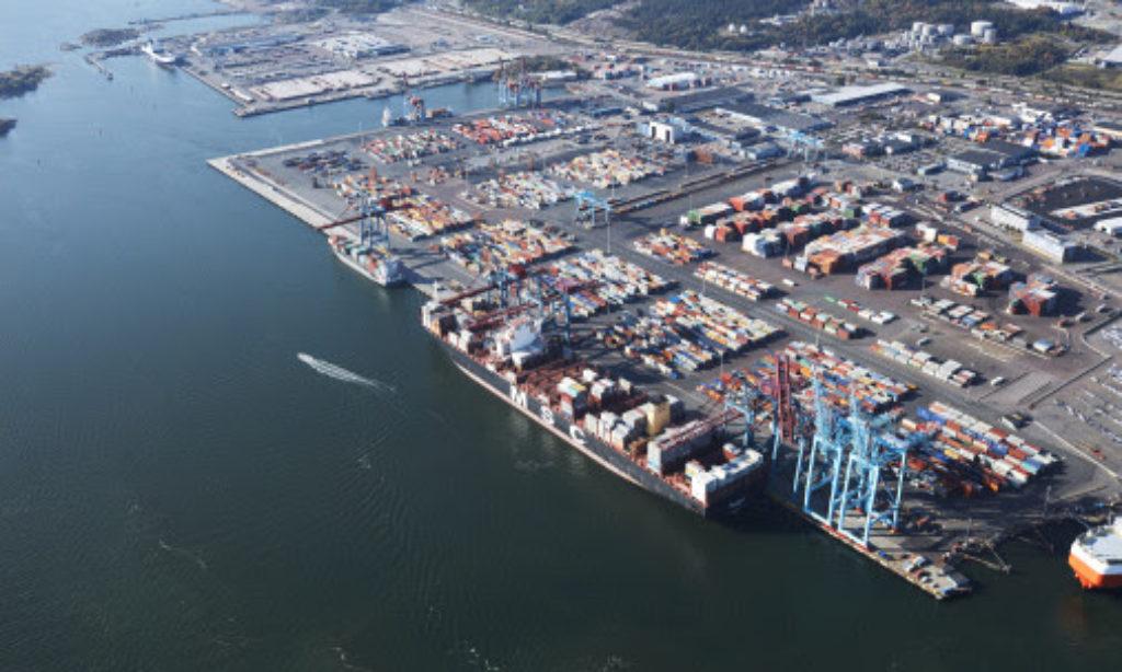 Rejäl upphämtning för Göteborgs hamn