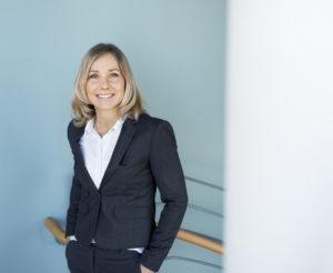 Ylva Öhrnell, hållbarhetschef på DHL Freight. Foto: DHL.