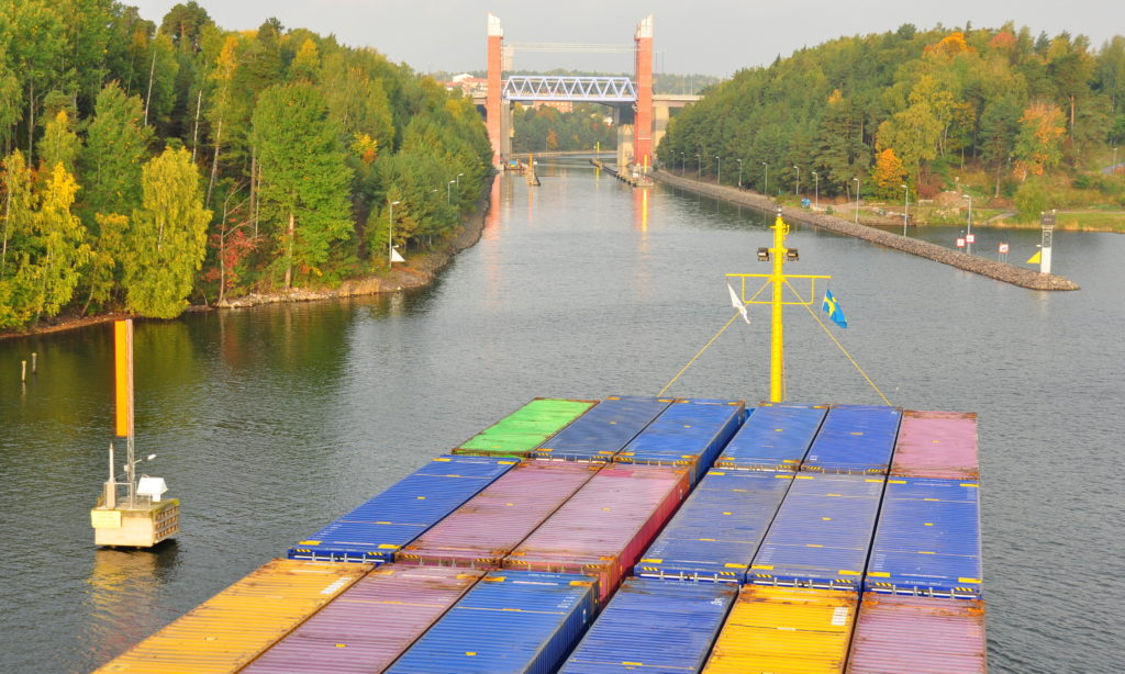 Ny containerpendel mellan Göteborg och Vänern