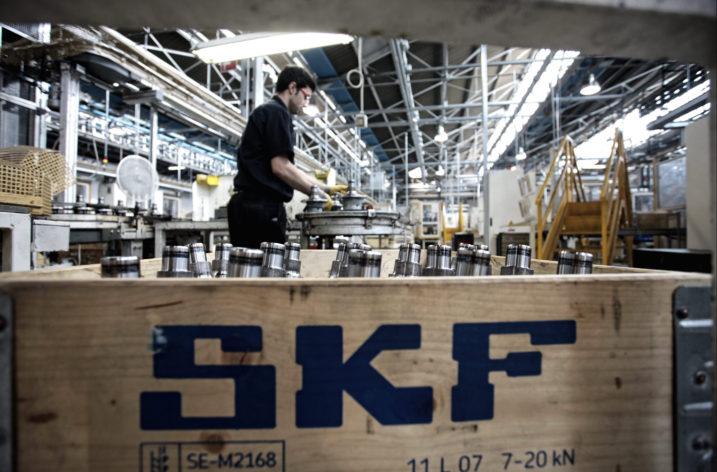 Utmanande globalisering för SKF