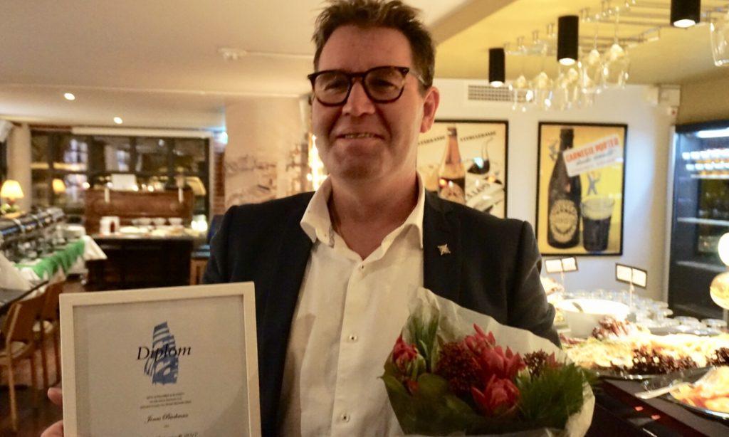 Jonas Backman är Årets sjöfartsprofil 2017