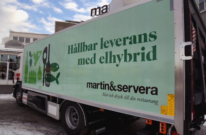 Martin & Servera satsar på elhybrid