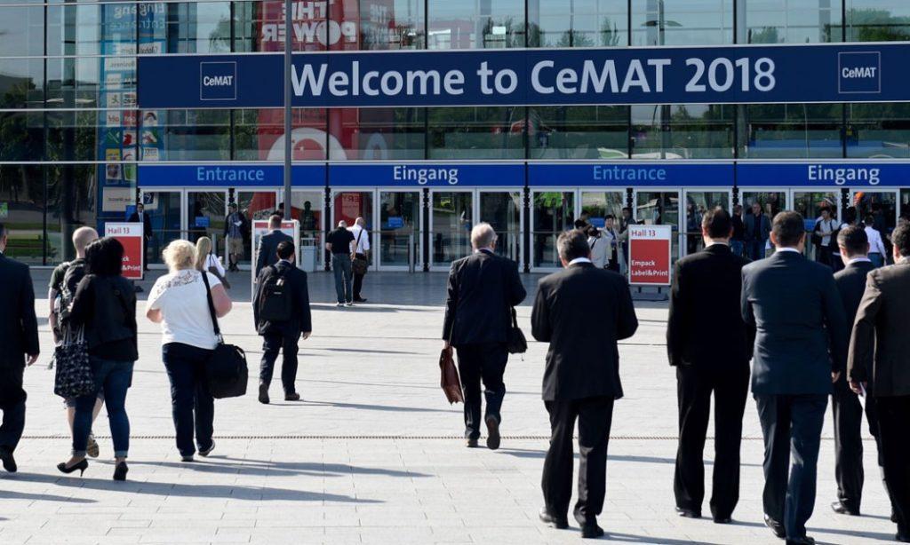 Den uppkopplade försörjningskedjan präglar Cemat 2018