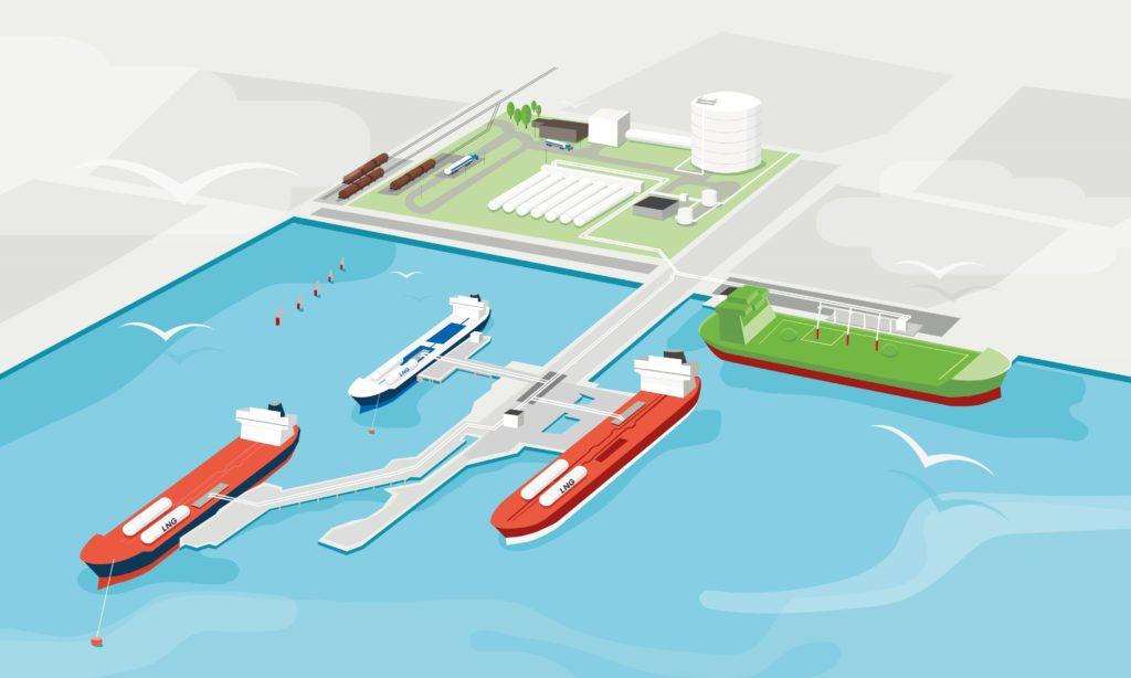 Mer naturgas i Göteborgs hamn