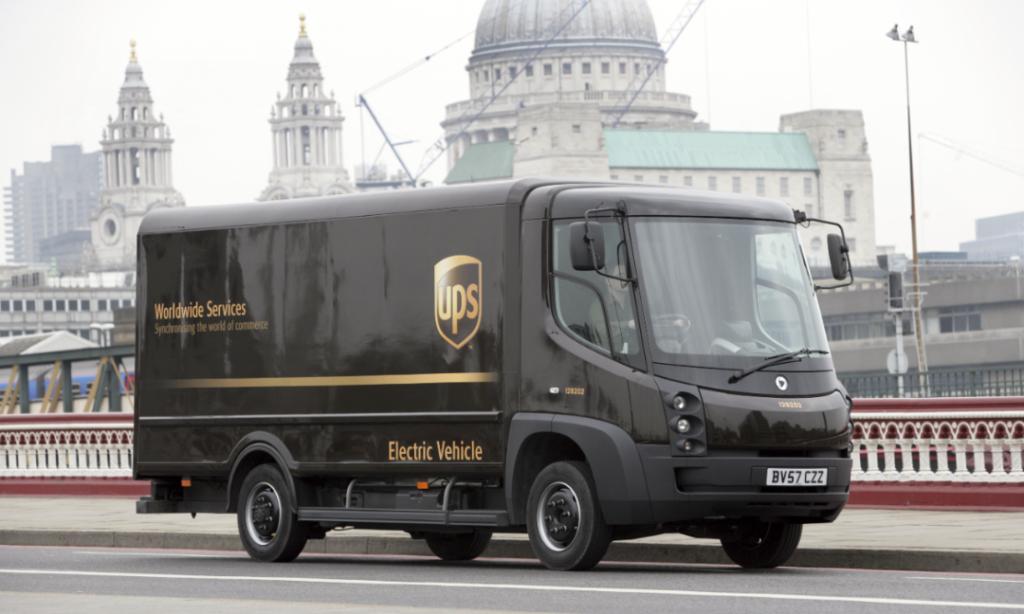 UPS går över till el i London