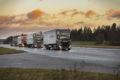 Scania och finska Ahola testar konvojkörning