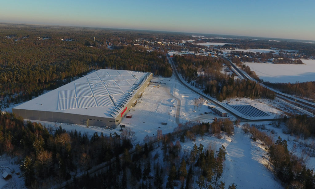Apoteas logistikcenter invigt