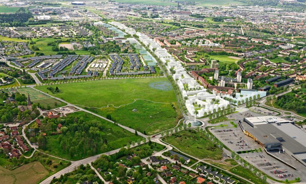 Nytt bygglogistikcenter lättar trafiken