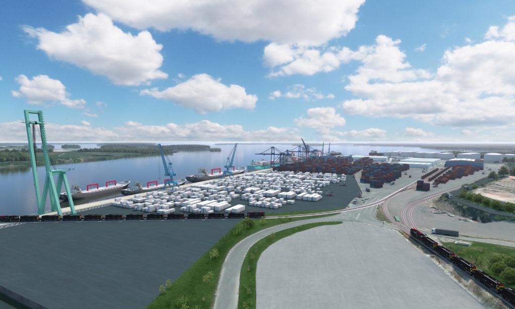 Östgötaregionen storsatsar som logistikläge
