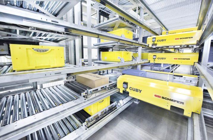 Lyko väljer Schäfers automationslösning