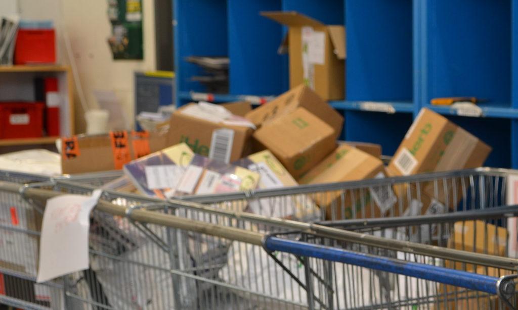 Effektivare paketutlämning mål för nytt projekt