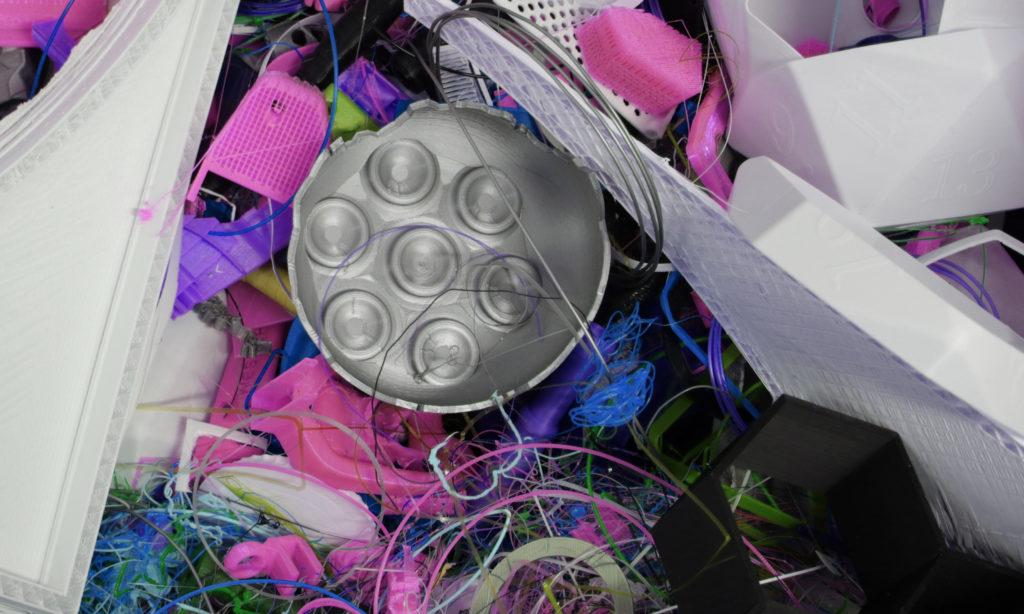 Cirkulär logistik:Korta logistikkedjor för 3D-plast