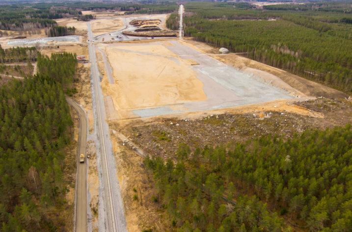 Nu bygger DHL äntligen i Eskilstuna