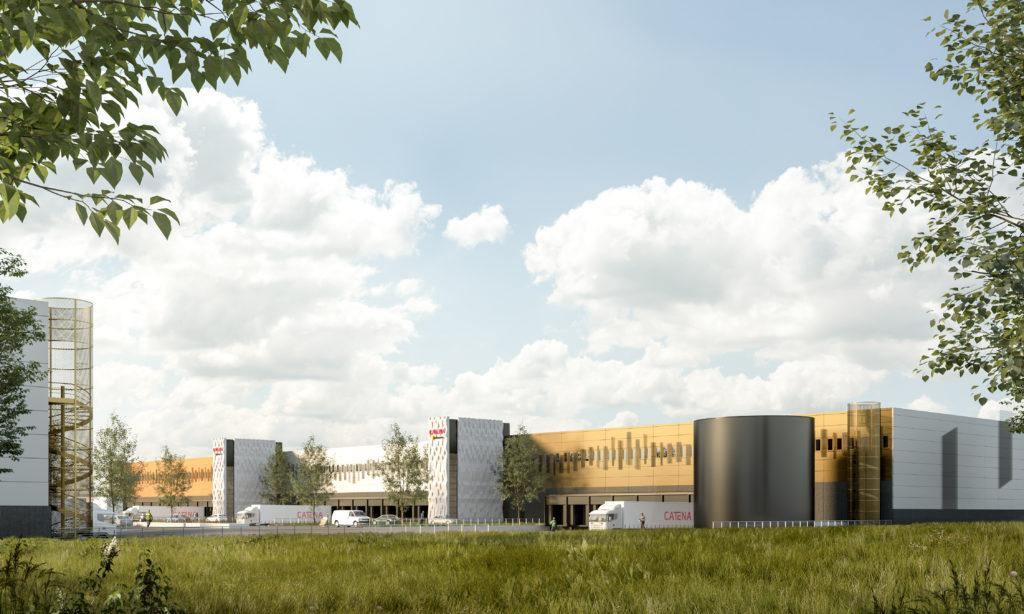 Logistikcenter för citydistribution växer fram i Malmö