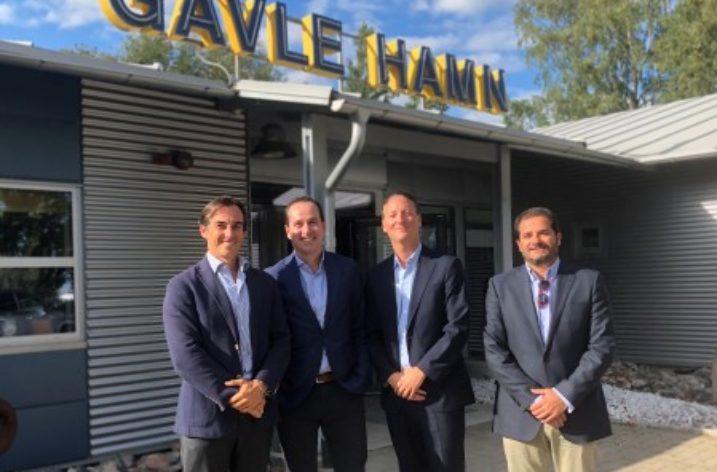 CYES Maritime fördubblar Gävles containerhamn