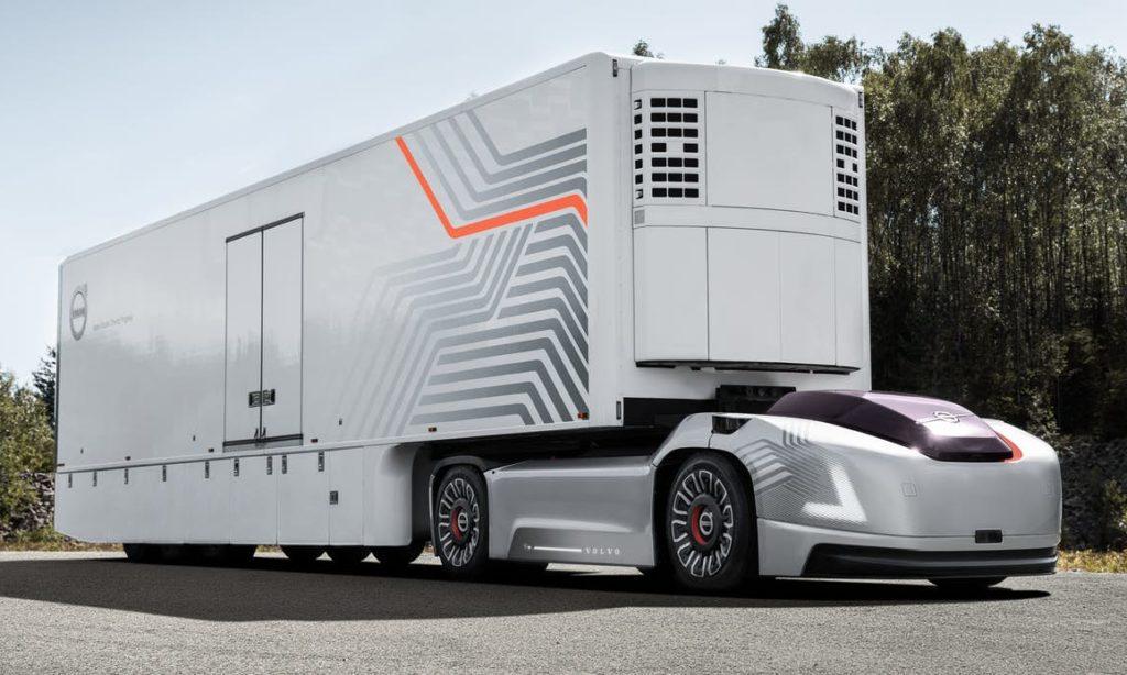 Vera – Volvos nya självkörande lastbil