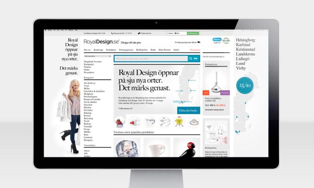 Royal Design bygger 40 000 kvm lager i Nybro