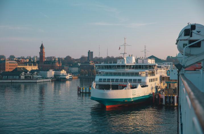 Eldrivna Danmarksfärjor nu i drift