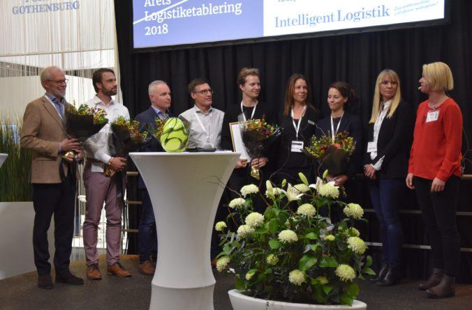 Zalando vinnare av Årets Logistiketablering 2018