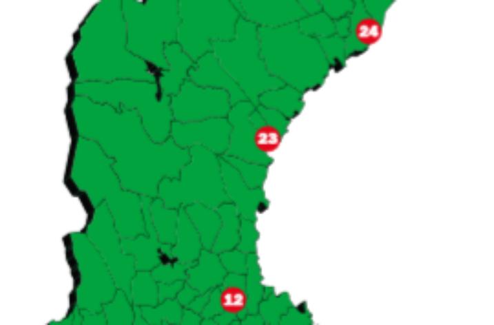 Här är Sveriges 25 bästa logistiklägen 2019