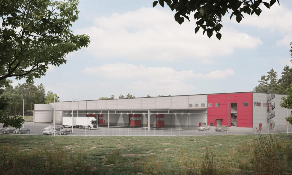 Logistic Contractor utvecklar och bygger för Bevego i Landvetter