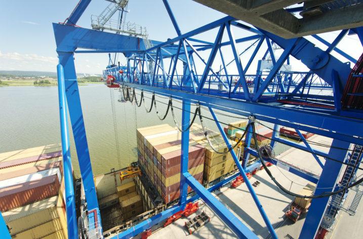 Ny containerlinje mellan Gävle, Norrköping och Polen