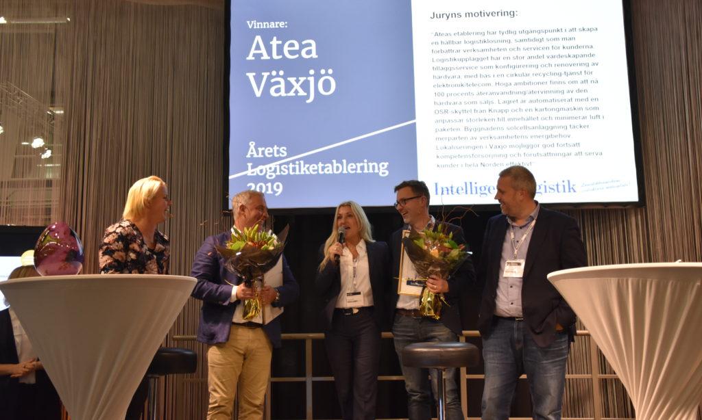 Atea årets Logistiketablering 2019