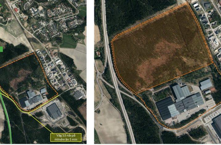 Orio vill bygga logistikpark i Nyköping