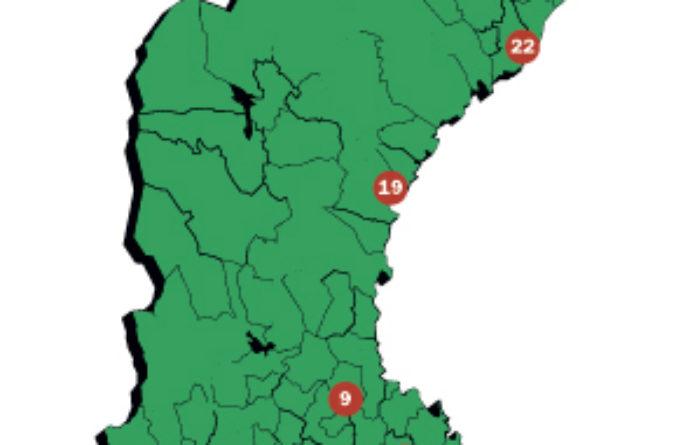 Sveriges bästa logistiklägen utsedda