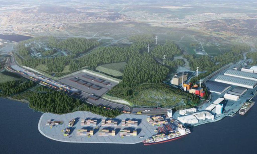 Byggstart för Sundsvall logistikpark