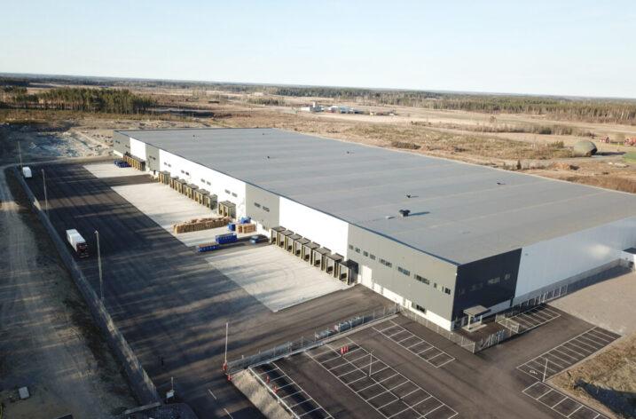 Amazon-lagret i Eskilstuna byggs ut