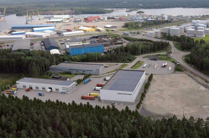Haegerstrands vill bygga logistik i Gävle hamn