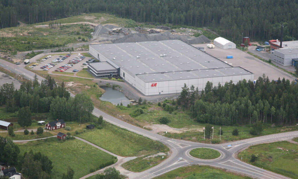 H&M bygger Nordenlager i Eskilstuna